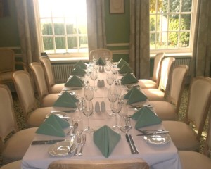 Old Library Private Dining Room for Hire