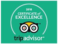 Tripadvisor, hotel certificate of excellence