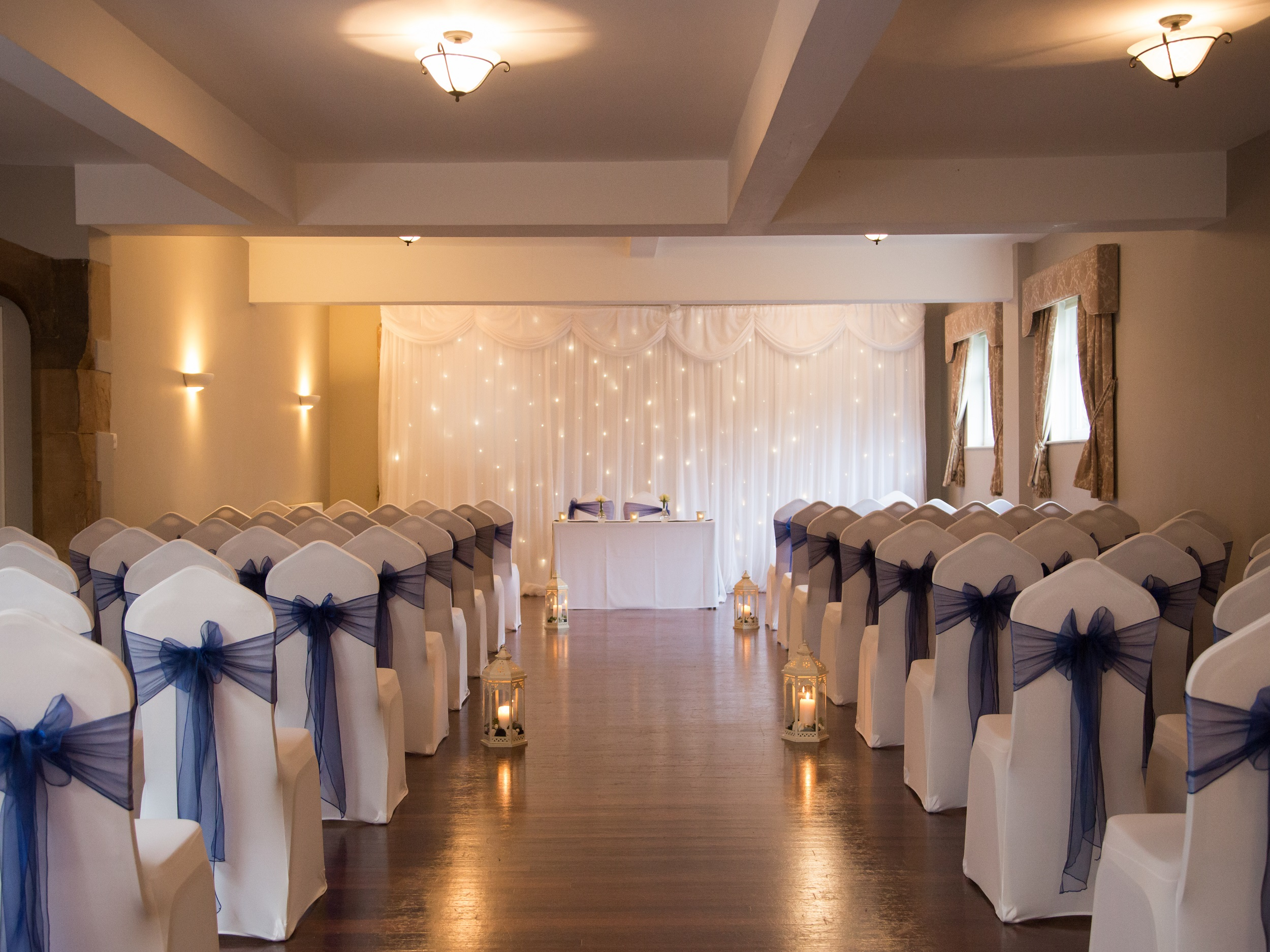 Large civil ceremony venue