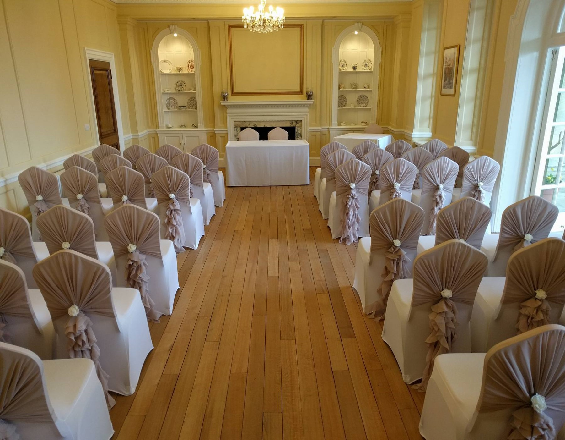 Civil ceremony room hire