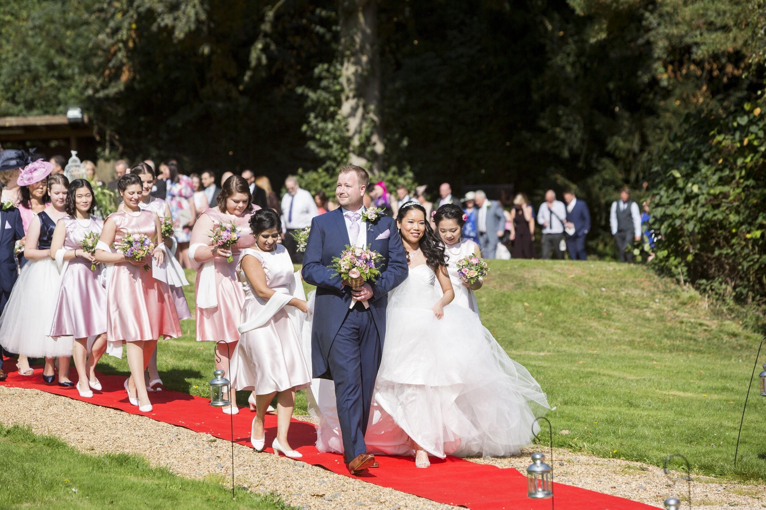 Outdoor civil ceremony venues