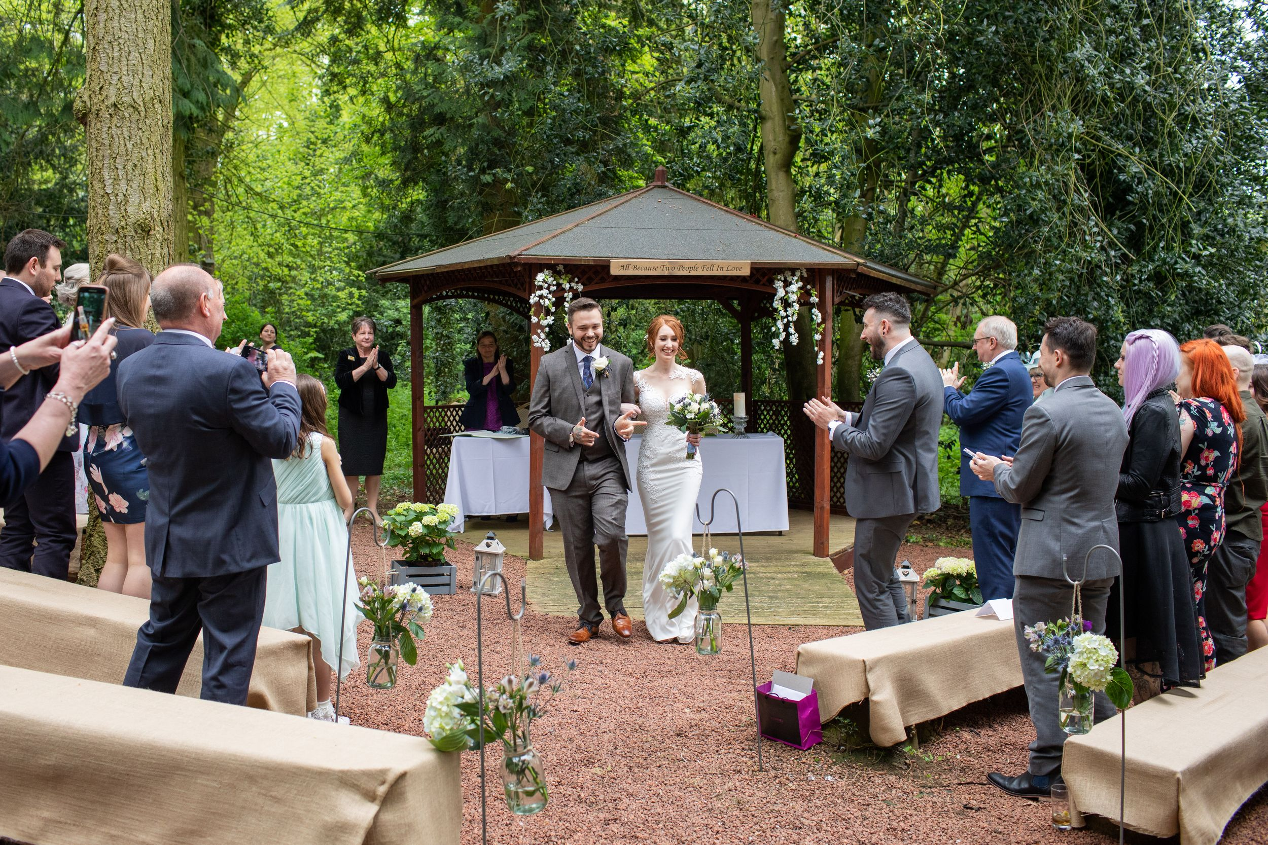 Woodland Weddings in Leicestershire